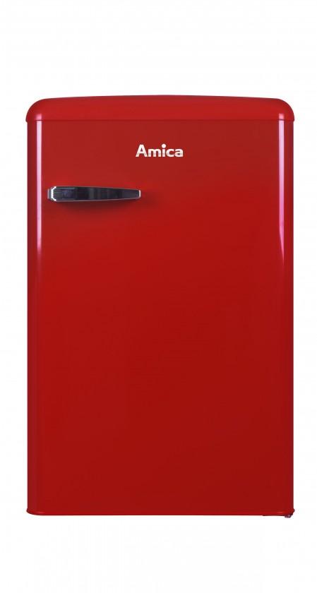 Jednodverové chladničky s mrazničkou Chladnička retro s mrazničkou Amica VT 862 AR, A++