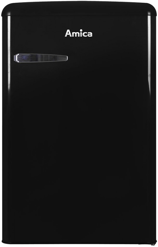 Jednodverové chladničky s mrazničkou Chladnička retro s mrazničkou Amica VT862AB