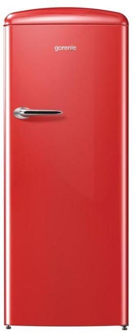 Jednodverové chladničky s mrazničkou Chladnička retro s mrazničkou Gorenje ORB153RD (pravá)
