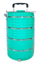 Jídlonosič Toro 261825, plastový, 4 poschodia, 23,8x16 cm