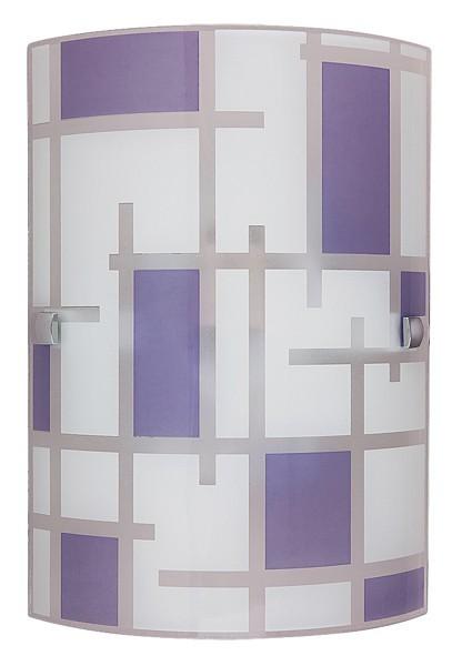 Jody - Nástenná svietidla, E27 (biela/fialová)
