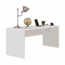 Joker - Pracovný stôl (biela, antracit)