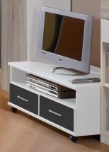 Joker - TV stolík (biela, antracit)