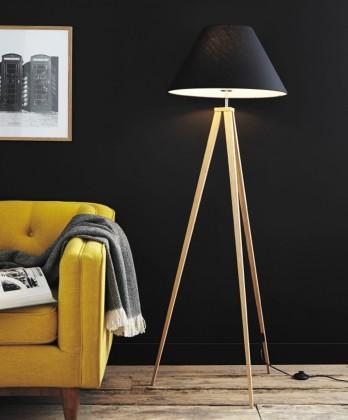 Jolli - lampa, 60W, E27 (čierna)