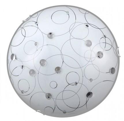 Jolly - Nástenná svietidla, E27 (biela se vzory/chrom)