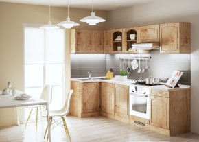 Julia - Kuchyne, 270x110 cm (dub arlington, traini beige)