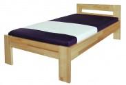 Junior - rám postele, 200x90 (masívní buk, prírodná)