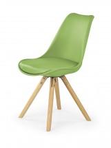 K201 - Jedálenská stolička (zelená, buk)