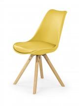 K201 - Jedálenská stolička (žltá, buk)
