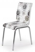 K262 - Jedálenská stolička (chróm, eko kože)