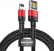 Kábel Baseus Cafule, USB na Lightning, 2,4 A, 1 m, čierny