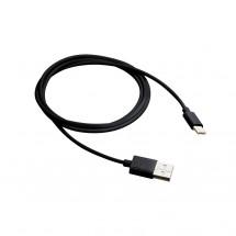 Kábel Canyon USB Typ C na USB, 1m, čierna