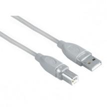 Kábel Hama 45021, 1,8m, pre prepojenie PC a tlačiarne