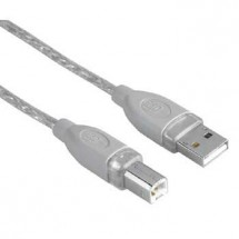 Kábel Hama 45023, 5m, pre prepojenie PC a tlačiarne
