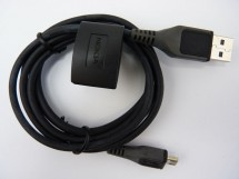 Kábel Micro USB na USB, 1,2m, čierna
