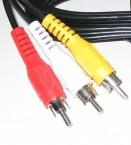 Kábel PremiumCord 3x CINCH-3x CINCH M/M 2m
