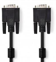 Kabel VGA/VGA Zástrčka,2m,černá barva