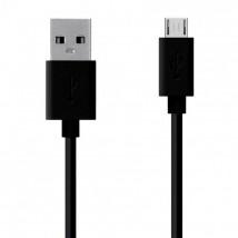 Kábel WG Micro USB na USB, 2m, čierna