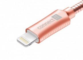 Kabel Wirez Steel Knight Lightning-USB, ružová