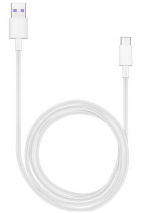 Káble k telefónom a tabletom Kábel Huawei USB Typ C na USB, 1m, biela