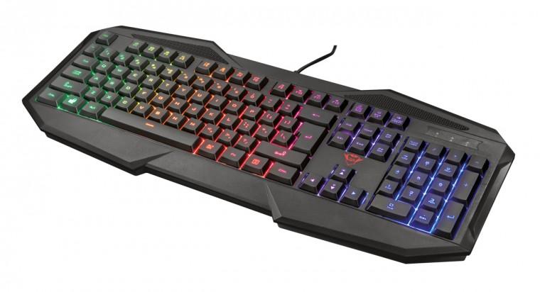 Káblová klávesnica GXT 830-RW Avonn Gaming Keyboard CZ/SK