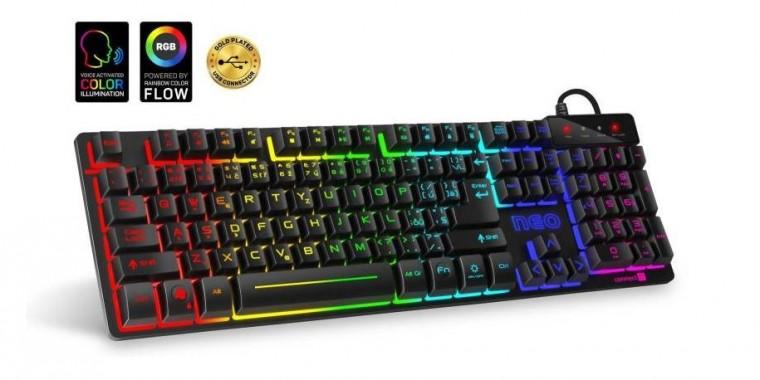 Káblová klávesnica Herná klávesnica Connect IT Neo (CKB-3590-CS)