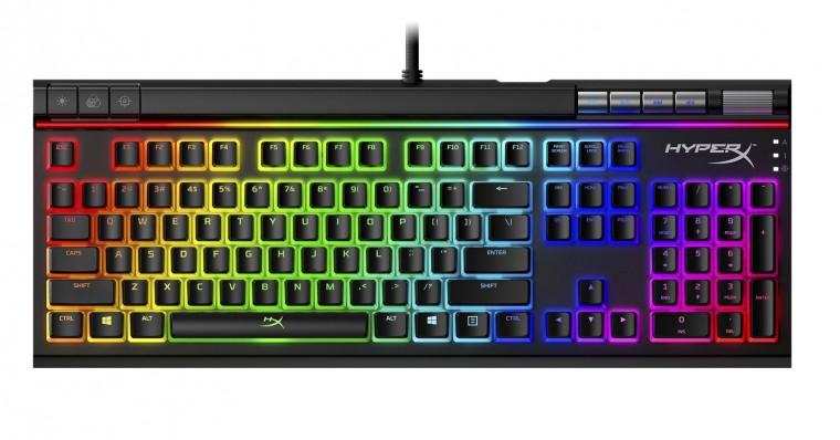 Káblová klávesnica Herná klávesnica HyperX Alloy Elite II (HKBE2X-1X-US/G)