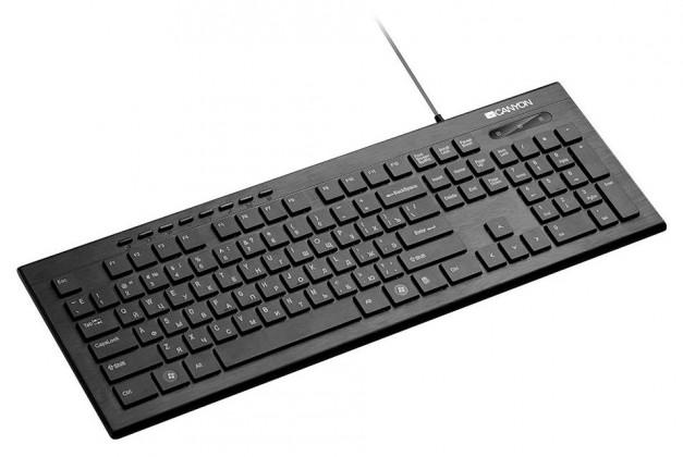 Káblová klávesnica Klávesnica Canyon CNS-HKB2-CS