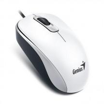 Káblová myš Genius DX-110, 1000 dpi, biela