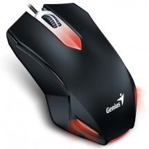 Káblová myš Genius X-G200, 1000 dpi, čierna