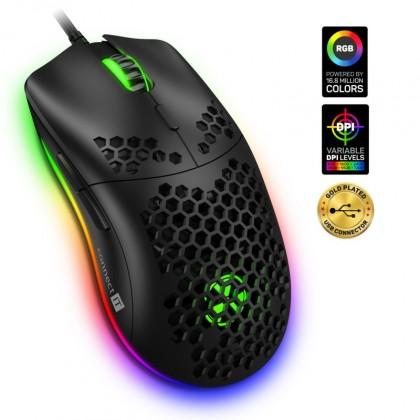 Káblová myš Herná myš Connect IT Battle Air (CMO-5510-BK)