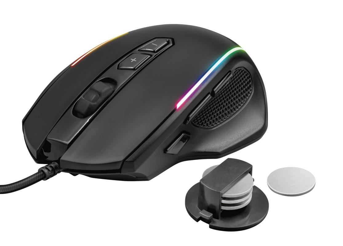 Káblová myš Herná myš Trust GXT 165 Celox (23092)