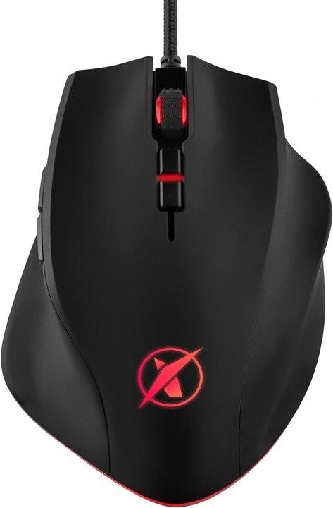 Káblová myš Herní myš Niceboy ORYX M600