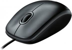 Káblová myš Logitech Corded Mouse M100, šedá