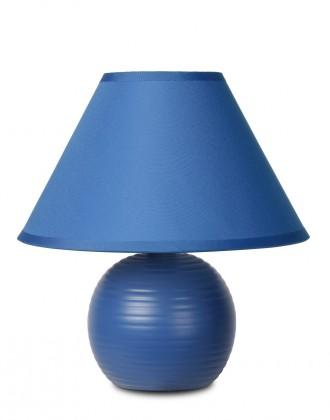 Kaddy - lampička, 40W, E14 (modrá)