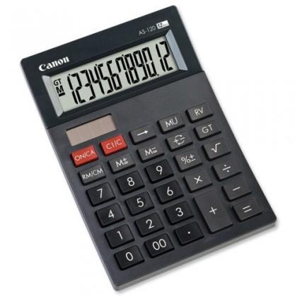 Kalkulačka Canon AS-120, čierna