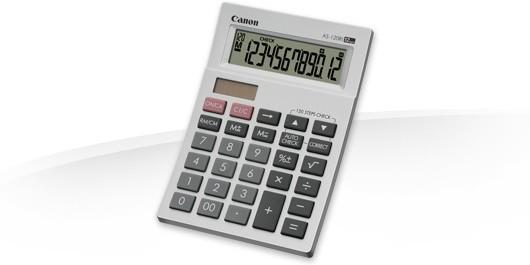 Kalkulačka Canon AS-120Ri, biela