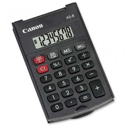 Kalkulačka Canon AS8, čierna