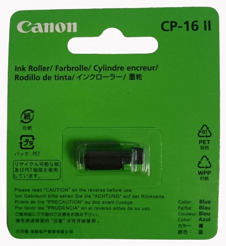 Kalkulačka Canon CALCULATOR INK ROLLER CP-16 II - 5167B001