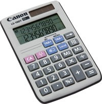 Kalkulačka Canon LS 10DT, biela