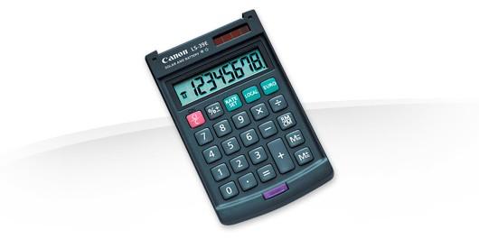 Kalkulačka Canon LS39E, čierna