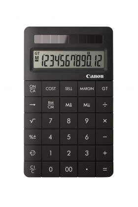 Kalkulačka Canon X Mark II, čierna