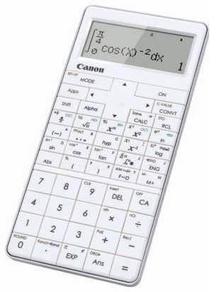 Kalkulačka Canon X Mark PRO, biela
