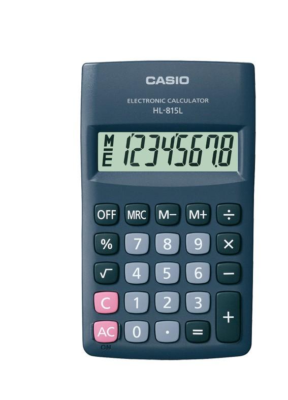 Kalkulačka Casio HL 815L BK
