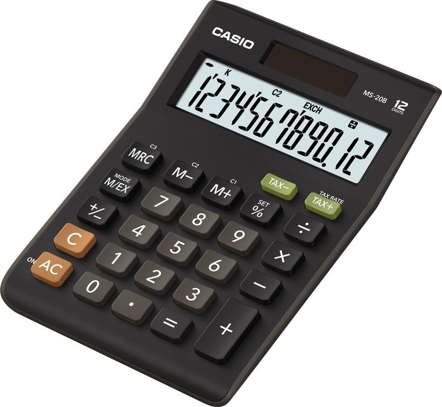 Kalkulačka Casio MS 20 B S