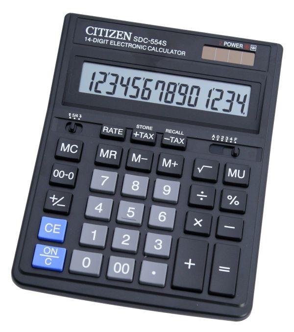 Kalkulačka Citizen SDC-544S, čierna
