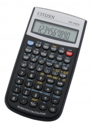 Kalkulačka Citizen SR-260N, čierna