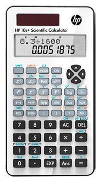 Kalkulačka HP 10s+ NW276AA, biela