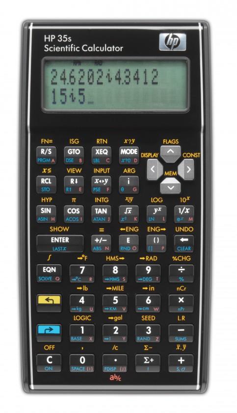 Kalkulačka HP 35s Scientific Calculator - Calc