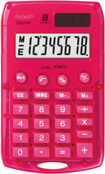 Kalkulačka Rebell StarletPBX, růžová